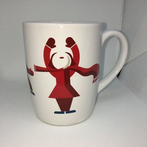 Starbucks Coffee Mug 2012 Snow Winter People